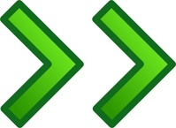 green,right,double,arrow,remix icon,glossy,set,collection,remix problem