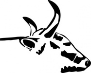 head,clip art,remix,media,public domain,image,png,svg,cow,horn,animal,line art,mammal,horn