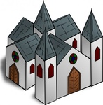 cathedral,cartography,map,geography,fantasy,building,church,media,clip art,public domain,image,png,svg