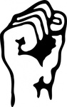 raised,fist,media,clip art,public domain,image,png,svg,people,icon,sign