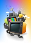 entertainment,box,building,city,communication,icon,music,object,sound,speaker,television