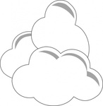 weather,cloud,outline,cartoon,simple,stylized,media,clip art,public domain,image,svg,cloud,cloud,cloud,cloud