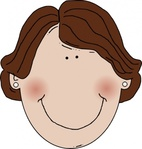 middle,aged,woman,brown,hair,remix,media,clip art,public domain,image,png,svg,worldlabel,lady,smiling,pearl,face,pearl