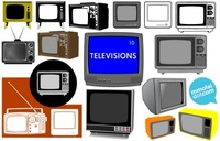 television,tv,set,appliance,t.v.,tubetele,many,flatscreen,antenna,signal