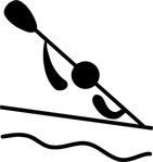 olympic,sport,canoeing,slalom,pictogram