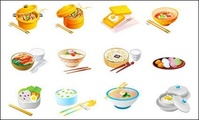 chinese,food,vector,icon