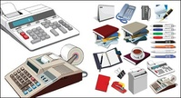 office,supply,vector,material