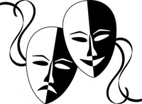 wasat,theatre,mask,theater,face,art,feeling,media,clip art,public domain,image,png,svg,feeling,feeling,feeling,feeling