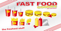 fast,food,goody,burger,hamburger,drink,fries,french,potato,goody,drink,goody,drink