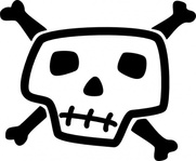 skull,bone,dead,jolly,roger,black,jack,flag,pirate,arrr,ahoy,skeleton,avast,treasure,lol,comic,stylized,cartoon,cartoony,totenkopf,head,man,crossbones,cross,piracy,pirattitude,talk,like,day,september,media,clip art,public domain,image,png,svg,bone,bone,bone,bone