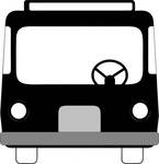 front,view,transportation,vehicle,bus,media,clip art,externalsource,public domain,image,png,svg