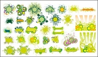 green,fashion,pattern,material,flower,vector
