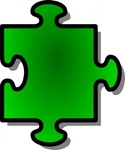 green,jigsaw,piece,puzzle,game,shape,media,clip art,public domain,image,png,svg