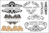 practical,fashion,exquisite,lace,pattern,material,corner,element,ornament