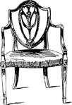 furniture,antique,chair,clip