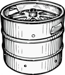 beer,media,clip art,externalsource,public domain,image,png,svg,keg,barrel,container,uspto