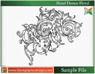 hand,drawn,floral