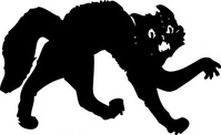 black,media,clip art,externalsource,public domain,image,png,svg,cat,black cat,halloween,animal,mammal,spooky