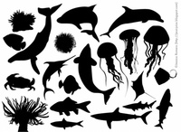 sea,material,element,marine,life,picture,animal,_animals,dolphin,fish,nature,plant,sea creature,silhouette,underwater,water,animals,backgrounds & banners,buildings,celebrations & holidays,christmas,decorative & floral,design elements,fantasy,food,grunge & splatters,heraldry,free vector,icons,map