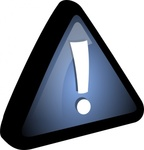 exclamation,icon,remix,series,blue,black,triangle,attention,warning,sign,aqua,glossy