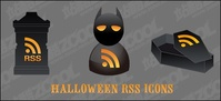 halloween,icon,material,rss,bat,clock,coffin,old,grand,father,icon,icon