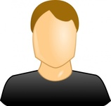male,user,icon,clip art,remix,media,public domain,image,png,svg,people,face,hair,black,boy,sign,cartoon