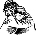 father,media,clip art,public domain,image,png,svg,people,man,boy,middle east,forgive,reunion,compassion,cartoon