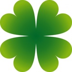 pierig,four,leaf,clover,remix,four leaf,ireland,luck,lucky,icon,shamrock,plant,clip art,media,public domain,image,png,svg
