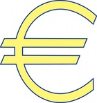 archie,symbol,money,euro,simple