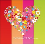 heart,flower,floral,love,illustration