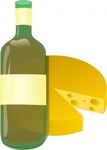 wine,cheese,remix,food,clip art,media,public domain,image,svg