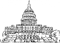 capitol,building,inkpen,style