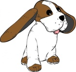 earred,media,clip art,externalsource,public domain,image,png,svg,animal,mammal,dog,beagle,ear,uspto