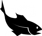 moreno,fishblack,fish,silhouette,food,animal,media,clip art,public domain,image,svg