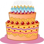 birthday,cake,candle,food,media,clip art,public domain,image,png,svg,candle,candle,candle,candle