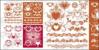accommodates,heart,shaped,pattern,lace,material,element