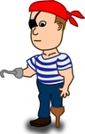 comic,character,pirate,funny,people,cartoon,human,guy,media,clip art,public domain,image,png,svg