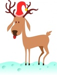 kablam,cartoon,reindeer,unchecked,christmas,yuletide,media,clip art,public domain,image,png,svg
