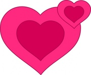 pink,heart,together,valentine,valetine heart,valetines day,love,love heart,romance,romantic,pink heart