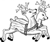reindeer,media,clip art,externalsource,public domain,image,png,svg,animal,mammal,holiday,christmas,uspto