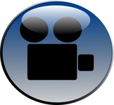 video,camera,glossy,icon,color,cartoon