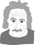 albert,einstein,cartoon
