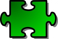 green,jigsaw,piece,puzzle,game,shape