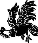 leaping,rooster,animal,bird,cock,chicken,media,clip art,externalsource,public domain,image,png,svg
