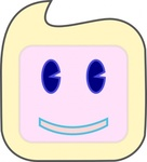 smiley,square,face