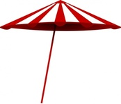 tomk,white,umbrella,media,clip art,public domain,image,svg,png