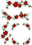 christmas,wreath,decoration,mistletoe,ribbon,leaf,flower,red-stokes,swirl