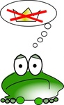 frog,cartoon,color,animal,media,clip art,public domain,image,svg,png