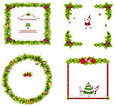 christmas,ornament,graphic,santa,claus,christmas-tree,leaf,snow,mistletoe,christmas-balls,pine,tree,yuletide,season