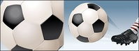 playing,soccer,vector,material